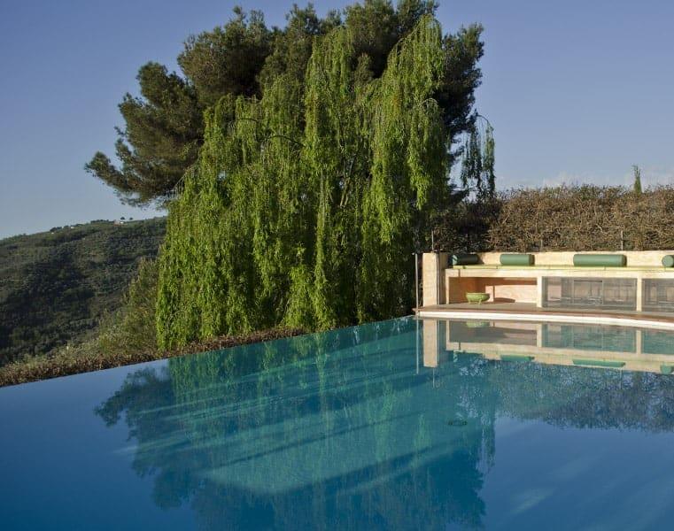 Infinity pool, Relais San Damian, Imperia, Liguria, Italia